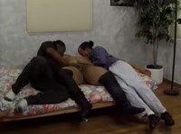 Два черных мужика и толстуха