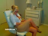 Аппетитная блонди