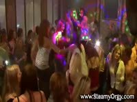 Сексуальная оргия в клубе