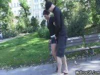 Дружелюбный парень воспользовался моментом и выебал чужую девушку