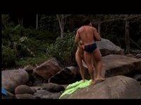 Секс с двумя телками на пляже