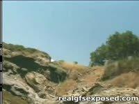 Групповушка на пляже