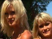 Две сестрички на одном члене