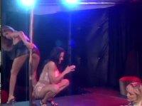 Телочки танцуют для лесбиянки