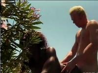 Любители секса встретились на пляже