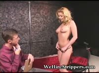 Блондинка пришла на собеседование