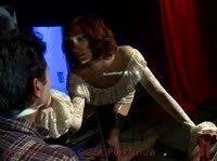 Красивая госпожа избивает раба и лишает анальной невинности