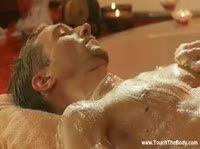 Красивый эротический массаж