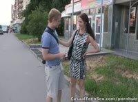 Надя встретила одноклассника